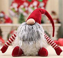 Handgemachte Weihnachten Weihnachtsmann Dekoration