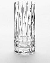 Handgemachtes No II Longdrinkglas aus Kristallglas