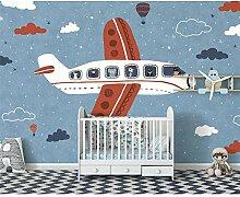 handgemalte Kinderzimmer Schlafzimmer Hintergrund