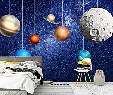 Handgemalte Raumstern Kinderzimmer Hintergrund