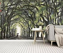 Handgemalte Sommer Landschaftsmalerei Wohnzimmer