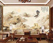 Handgemalter Klassischer Chinesischer Adler Der