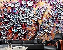 Handgemaltes abstraktes Gemälde der Tapete 3d