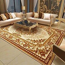 Handgeschnitzte Europäischen Wohnzimmer Couchtisch Sofa Große Teppichboden Schlafzimmer Nacht Bett Teppich Umweltschutz nicht verblassen starkes mit hoher Dichte ( farbe : D04 )