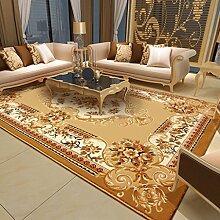 Handgeschnitzte Europäischen Wohnzimmer Couchtisch Sofa Große Teppichboden Schlafzimmer Nacht Bett Teppich Umweltschutz nicht verblassen starkes mit hoher Dichte ( farbe : C03 )