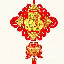 Handgeschnitzte orientalische Quaste Chinesische