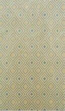 Handgetufteter Teppich Eugenia in Gold Canora Grey