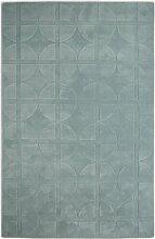 Handgetufteter Teppich Universal in Mintgrün