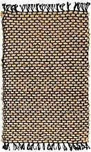 Handgewebte Naturfaser Jute Teppich 160x 240