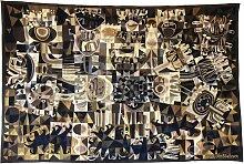 Handgewebte Tapisserie von Julien Van Vlasselaer