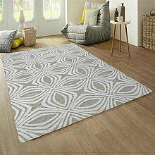 Handgewebte Wolle Teppich Wohnzimmer Sofa/ einfache und modische amerikanische Schlafzimmer Bettdecke-C 160x230cm(63x91inch)