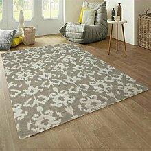 Handgewebten Teppich Wohnzimmer Sofa/ einfache und modische amerikanische Schlafzimmer Bettdecke-A 160x230cm(63x91inch)