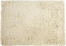 Handgewebter Shaggy-Teppich aus Wolle und
