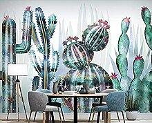 Handgezeichnete Aquarell tropische Pflanze Kaktus
