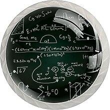 Handgezeichnete wissenschaftliche Formeln