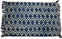 Handicraft Bazar Kilim Teppich, indisch, 100%