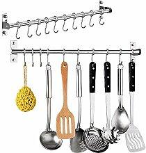 HanDingSM Handtuchhalter/Hakenleiste Küchenleiste