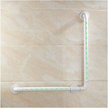 Handlauf für Badezimmer Leuchtende L-förmige