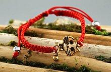 Handmade Damen Armband exklusiver Schmuck Geschenk fur Frauen rotes Armband