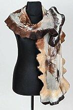 Handmade gefilzter Schal Frauen Accessoire