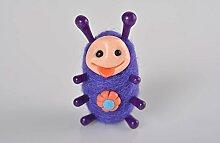 Handmade kleines Spielzeug gefilzte Figur Geschenkidee fur Kinder viole