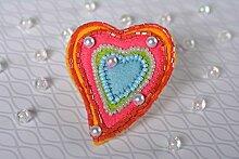 Handmade Schmuck Brosche Geschenk fur Frauen