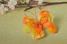 Handmade Schmuck Brosche Schmetterling Accessoires