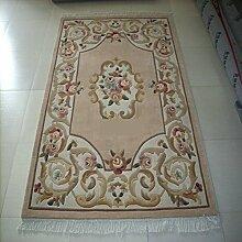 Handmade Wollteppiche/Couchtisch Teppiche/ Wohnzimmer-Teppich/ Sofa-Teppich-A 140x200cm(55x79inch)