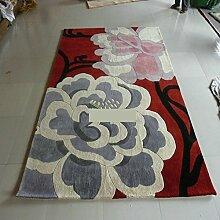 Handmade Wollteppiche/Wohnzimmer Couchtisch Sofa Trausäle Teppich-C 160x230cm(63x91inch)