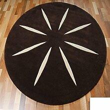 Handmade Wollteppiche/ Wohnzimmer-Teppich/ Sofa-Teppich-A 160x160cm(63x63inch)