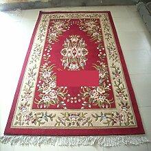 Handmade Wollteppiche/ Wohnzimmer-Teppich/ Sofa-Teppich/Couchtisch Teppiche-C 160x230cm(63x91inch)