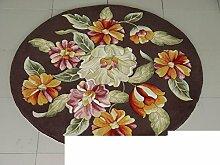 Handmade Wollteppiche/ Wohnzimmer-Teppich/ Sofa-Teppich-E 160x160cm(63x63inch)