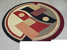Handmade Wollteppiche/ Wohnzimmer-Teppich/ Sofa-Teppich-F 120*120cm