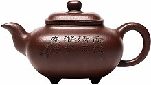 Handmade Zisha Teapots Lila Ton Teekanne mit