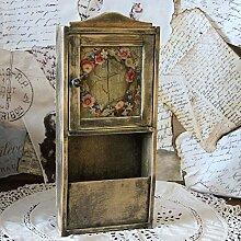 handmade4u Vintage Schlüsselkasten 41,5 x 18 cm