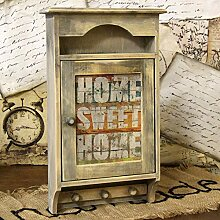 handmade4u Vintage Schlüsselkasten Landhaus