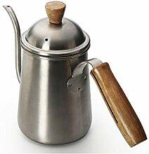 Handrauschen Kaffee Wasserkocher Edelstahl