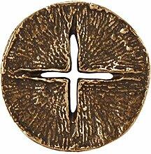 Handschmeichler Kreuz durchbrochen - Handkreuz aus