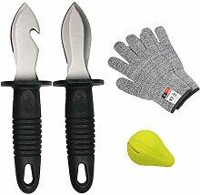 Handschuhe Austernmesser 4er-Se