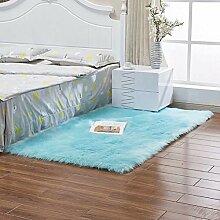 Handser Luxus Weicher Kunstfell-Teppich für