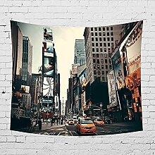 Handser New York City Wandteppich, Wolkenkratzer