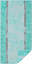 Handtuch 1 16x22 cm, 2 Waschhandschuhe, gestreift