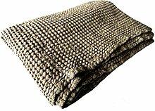 Handtuch Badetuch Saunatuch Stonewashed Leinen