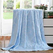 Handtuch/ Baumwolldecke/Handtuch Baumwolldecke/ Verdickung Klimaanlage war/ Decke/ decken/ cool im Sommer/ Decken Bettwäsche-E 150*200cm(59x79inch)