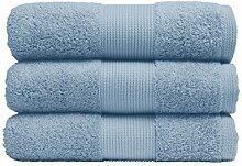 Handtuch, extra weich, azurblau, 40 x 60 cm