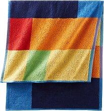 Handtuch Fun, orange (50/100 cm))
