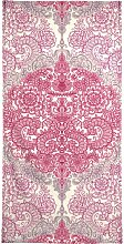 Handtuch Happy Place Doodle in Pink, Juniqe 1x