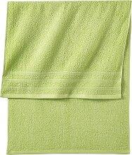 Handtuch Lina, grün (30/50 cm))