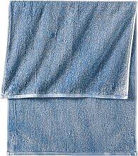 Handtuch Malte, blau (30/50 cm))