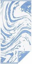 Handtuch Marble Egeria Farbe: Hellblau